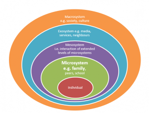 paper on bronfenbrenner s theory on journal Ecological systems theory: this theory looks at a child's development within the context of the system of relationships that form his or her environment bronfenbrenner's theory defines complex .
